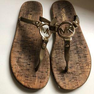 Michael Kors Jelly Logo sandals